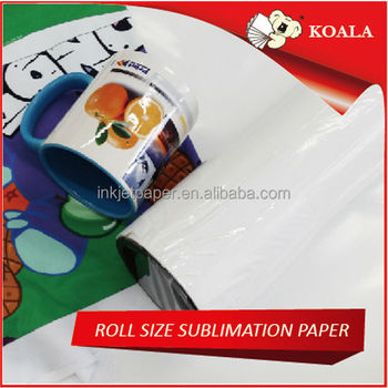 100g dye sublimation heat transfer printing paper ,Textile digital printing paper