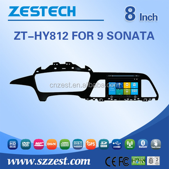2 din car dvd gps For Hyundai Sonata 2014 2015 9TH Generation 2 din car dvd gps auto radio Bluetooth SD USB Radio wifi 3G