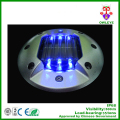 circular high brightness Aluminum Alloy solar 30 Ton road stud marker circular solar led light