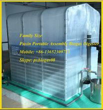 Puxin Small Home Biogas System, Portable Biogas Digester, Family Size Biogas Plant