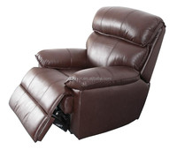 Hot selling lazy boy leather recliner chair with recliner chair remote control 9036B
