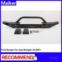Front bumper guard for Jeep Wrangler JK 2007+ car bumper 4x4 accessories from Maiker