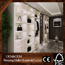 modern design wooden clothes cabinet