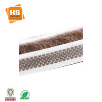 Self Adhesive Mohair Sealing Weather Door Seal Brush Strip