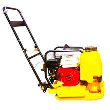 new compact plate compactor for sale Honda engine 5.5hp forward vibrating plate compactor