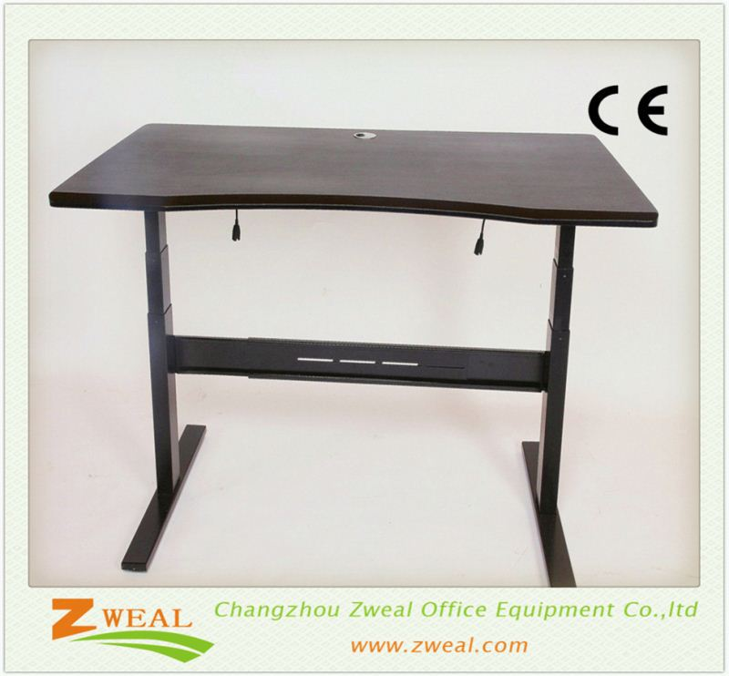 height adjustable desks sit to stand china supplier high quality office manager desk electric single motor computer table