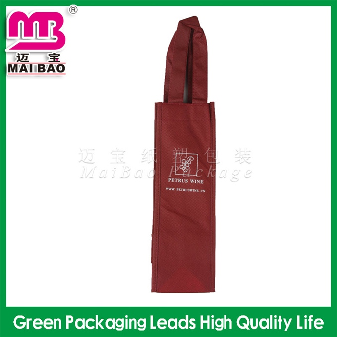 Perfect printing convenient to carry market foldable non woven multi pocket tote bag