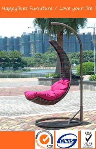 HL1008 Good Quality and best selling cane swing chair Made in China