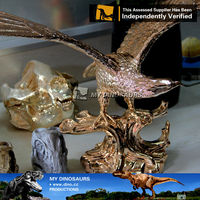 MyDino-R -resin statue eagle statue for home decoration