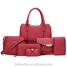 Add to Favorites. WX62 2018 Fashion 6-pieces shoulder bag PU leather ladies  handbag set 3f8d1ddb13b2f