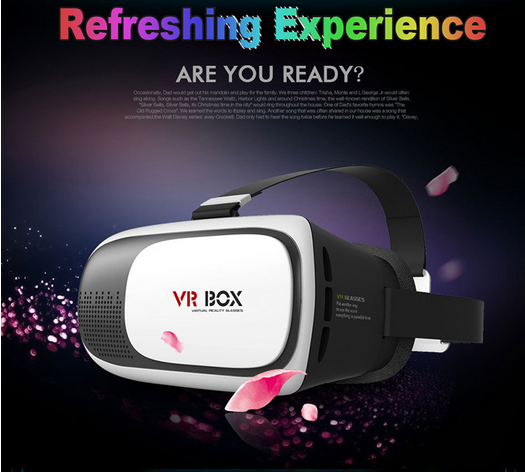 2016 Virtual Reality VR BOX II 2 3D Glasses VRBOX Google cardboard Professional 3D <strong>Video</strong>