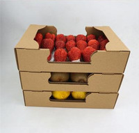 carton packaging box for fruit