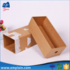 Recycled custom printed kraft paper packaging box sleeve