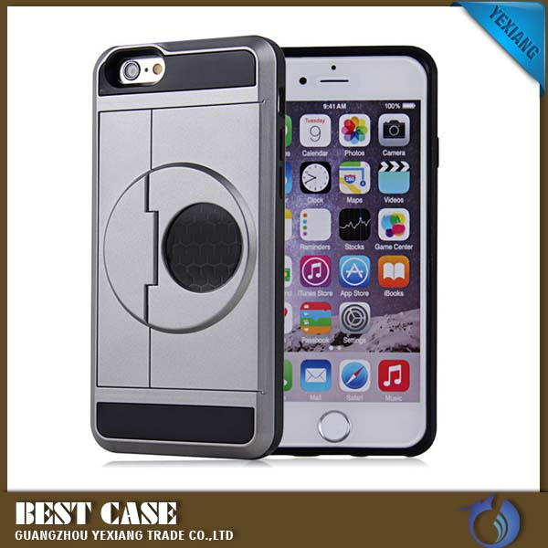 Reading Glass New Housing Back Cover For Samsung S3 i9300 armor Card Holder Phone Case