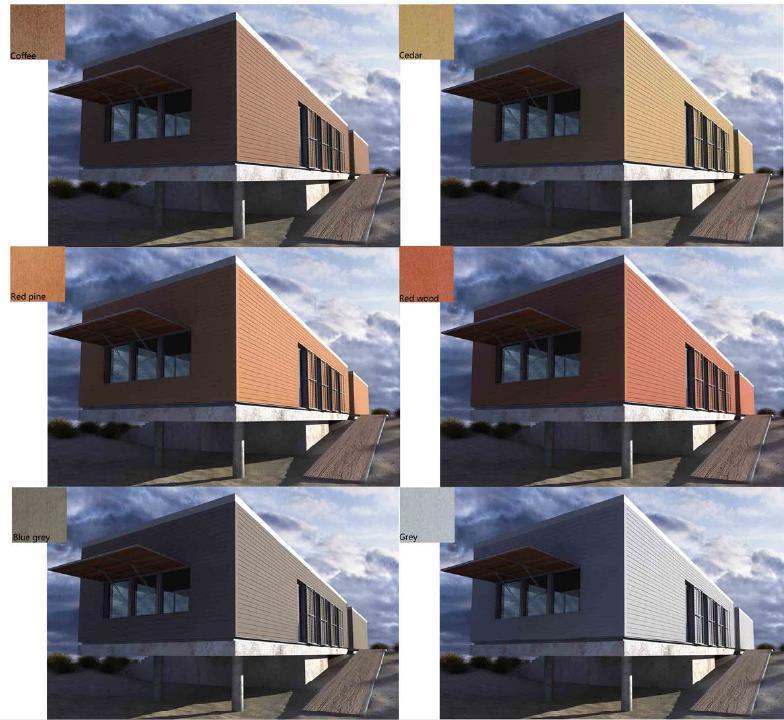 Wood Plastic Composite Lightweight Exterior Siding Buy Lightweight Exterior Siding Exterior