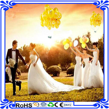 2016 new design flying wedding balloon camera function with led light