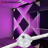 RGB LED Pixel Module Light Nodes for Mesh Curtain Display