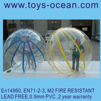 Water splash ball/inflatable water walking ball/giant inflatable clear ball