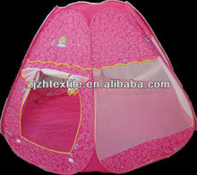 kids tent manufactures, pink princess style kid tents,wonderful tents