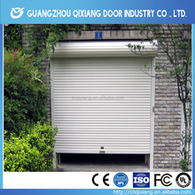 European security design white aluminum garage roller door for car