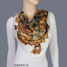 wholesale 100 silk satin square scarf