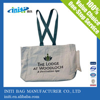 High quantity industry use city name printed canvas tote bag