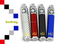hsj electronic cigarette wholesale battery e-vod for 1473 ecig 510 thread