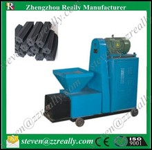 Friendly-environment wood and sawdust coal/charcoal extruder machine