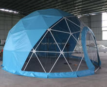 Colorfull Outdoor Geodesic Dome /Outdoor Big Dome Tent