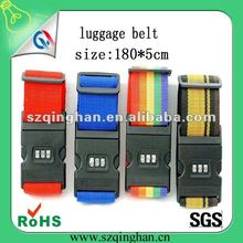 2012 promotion travel and air company digit luggage belt 180X5cm with printing logo