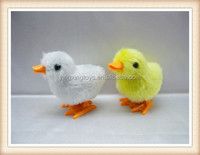 cute shape funny toys Plastic wind up chicken toy for kids