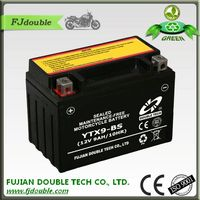 sealed storage battery rechargeable lead acid 12v 9ah motorcycle battery