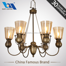 Vintage home decor gallery MOQ 50PCS venetian style pendant lamp