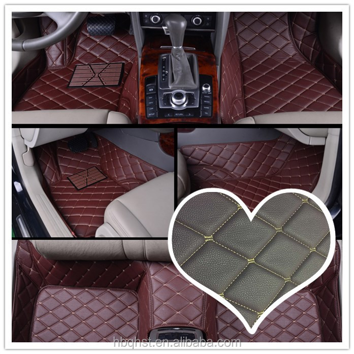 car mat PU/PVC Microfiber <strong>leather</strong>