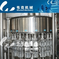 mineral water production line/pure water plant machinery cost