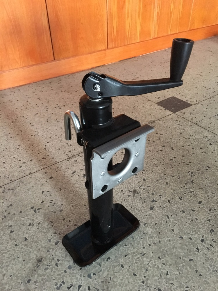 2000lb Screw Jack with Flange