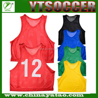 Numbered Running Bib Soccer Training scrimmage vest