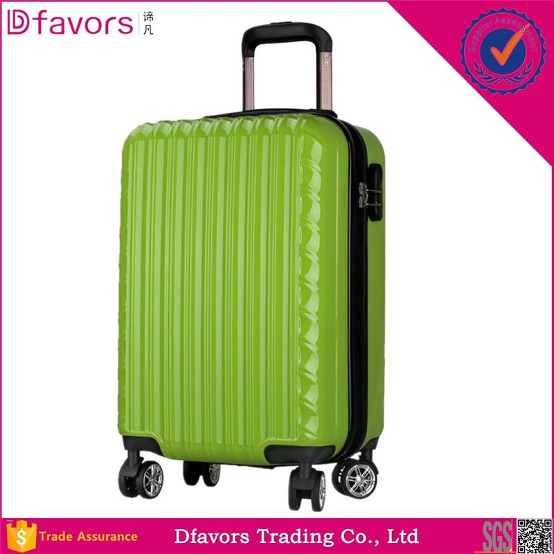 Hot selling abs suitcase material trolley case uk lightweight luggage in stock