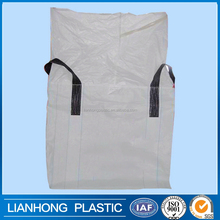 Virgin material pp fibc jumbo bag for potato,carrot, strong 1 ton 2 ton big bag from china, white black pp big bag 2000kg
