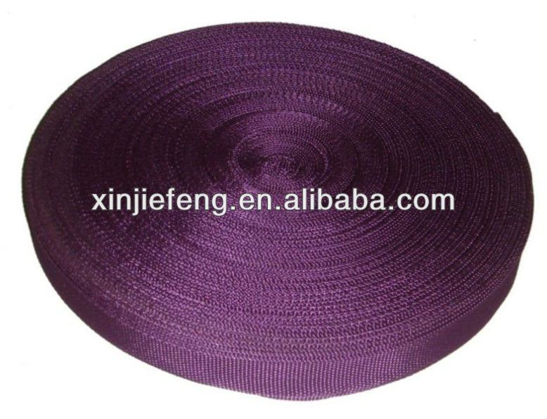 Purple Polyester Webbing for Beach Chair