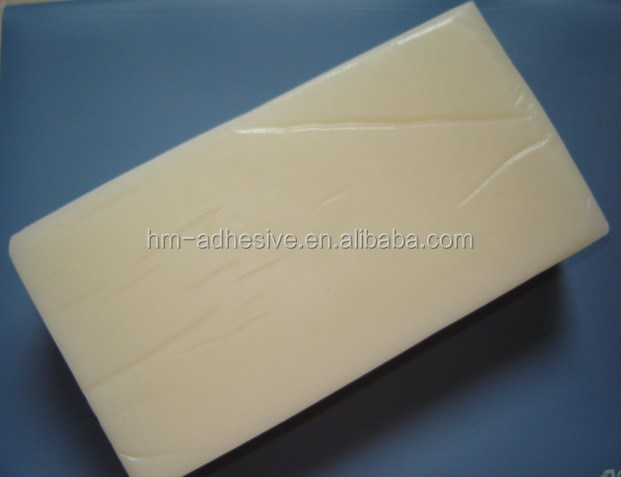hot melt adhesive block for cosmetic box aseembly