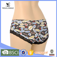 Hot Sales Pretty Pattern Sexy Mature Women Panties High Quality Underwear Women Sexy Panty Models