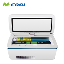 Portable China supply battery powered mini fridge freezer 12v dc refrigerator car travel holiday outdoor insulin pen carry case