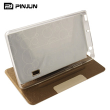 Smart PU Leather tablet case cover for huawei mediapad t3 7 7.0 inch flip folding stand case
