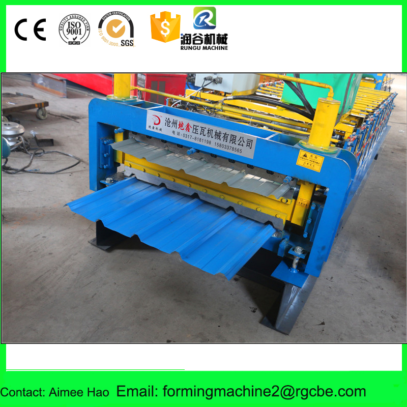 Fully automatic roof color steel frame cad roll forming machine