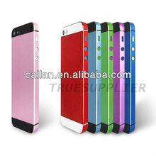 Wholesale for iPhone 5 Middle plate With Back Cover Colorful