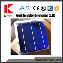 Superior quality 156x156mm 3BB 6x6 cheap mono solar cell chip