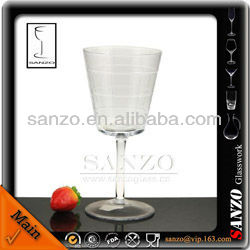 lead free eco-friendly lined juice glass