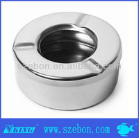 Stainless steel wholesale ashtray with cover