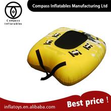 Customized New Arrvail Funny Water Toys Towable Tube